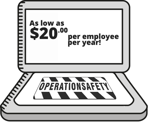 As low as $20 per year per employee!